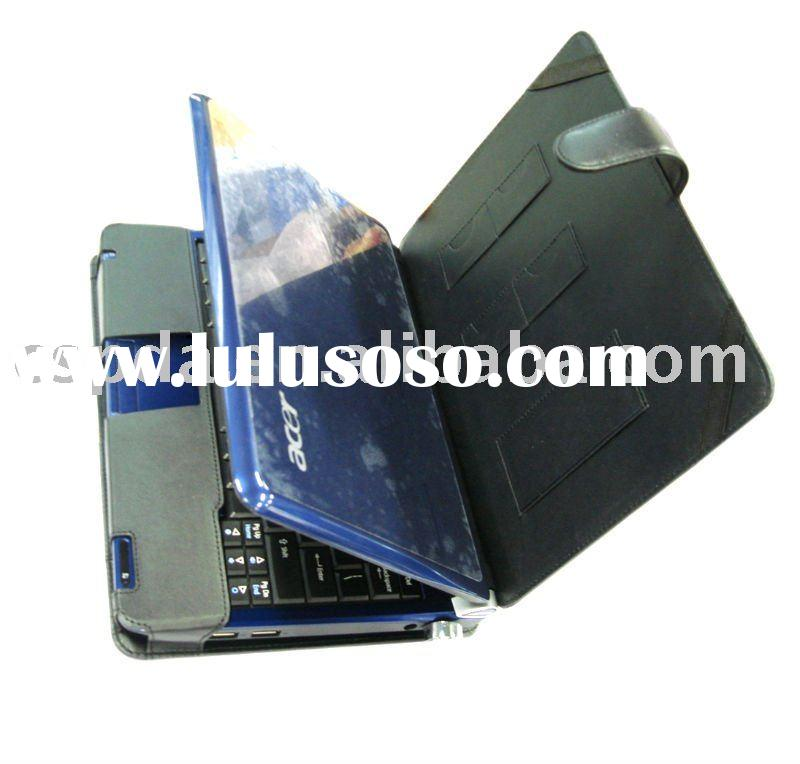 UMPC Carrying laptop leather case for Acer Aspire one D150 10.1'' (3 cell battery)