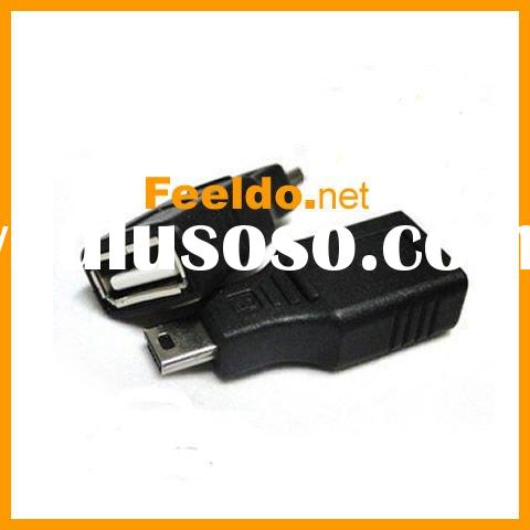 USB A Female to Mini USB B 5 Pin Male Adapter Converter