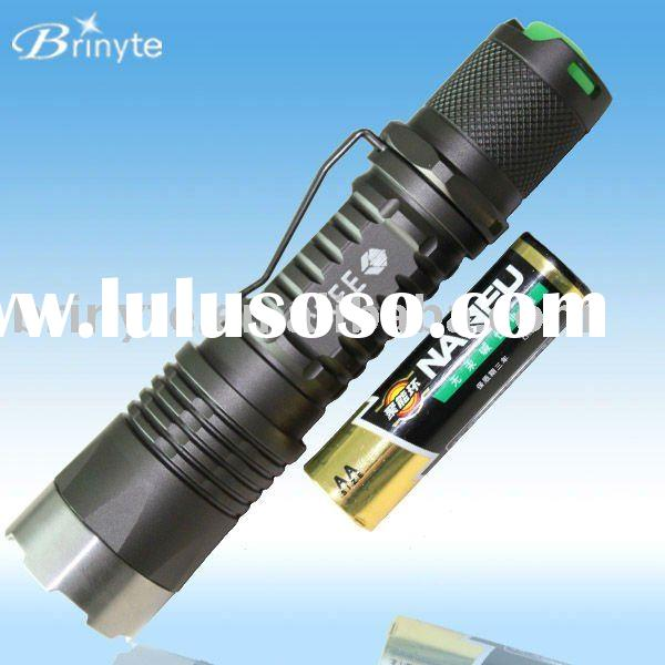Unique Militarize Style Cree LED Torch PA01 AA or 14500 battery