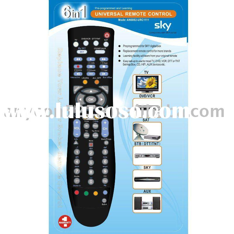 Universal Remote Control with learning function
