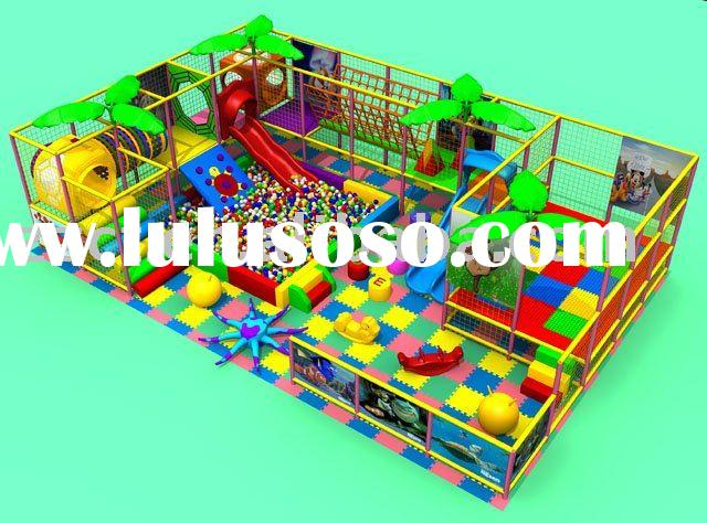 Various of Kids indoor playground games