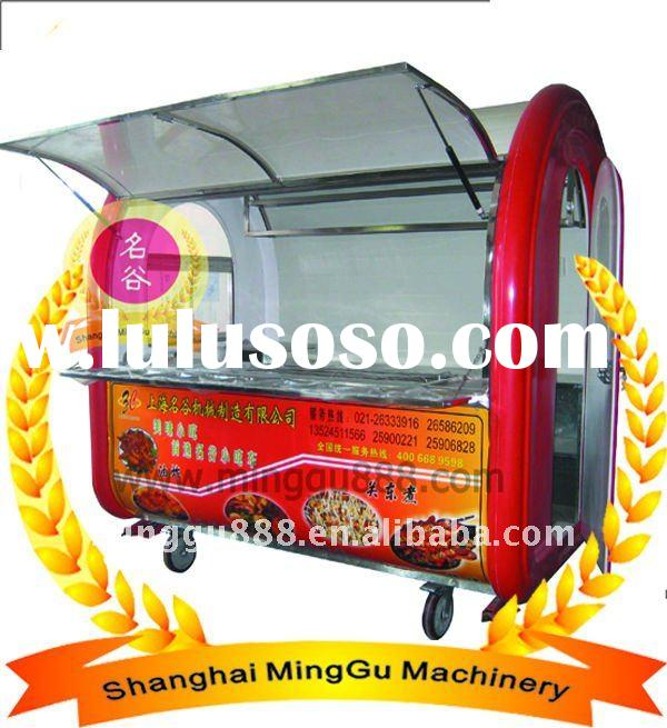 Vending food mobile catering trailer for sale (Stainless steel,CE&ISO9001 Approved) Manufacturer