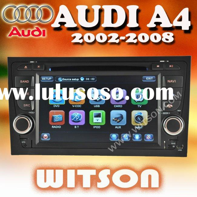 WITSON 7'' HD Car DVD Radio GPS Navigation for Audi A4
