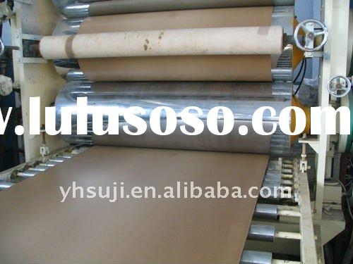 WPC template board extrusion line,wood and plastic composition foam plate production line