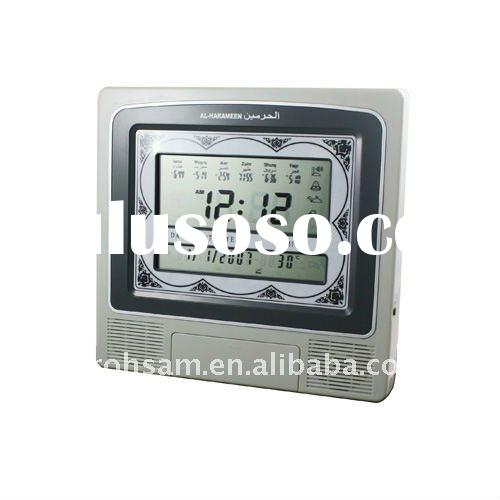 Wall Azan Clock Azan Arabia Muslim digital Quran CLOCK
