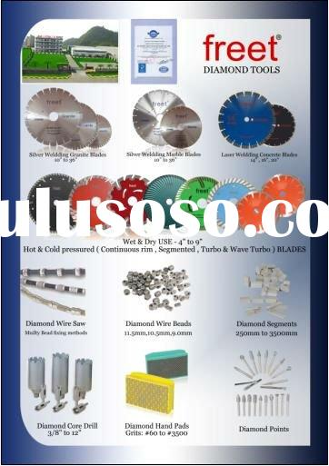 Wanted diamond segment & saw blade distributor and agent in Middle East
