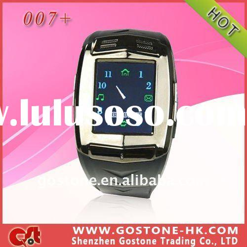 Watch mobile phone 007+ quadband,touch screen,hotsell watch phone,gsm watch phone,support bluetooth,