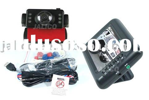 "Wireless Car Backup Rear View Camera System with 3.5"" Color LCD"
