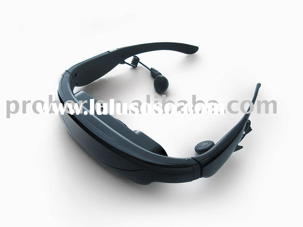 Wireless Video Glasses,TFT LCD monitor,TV game player