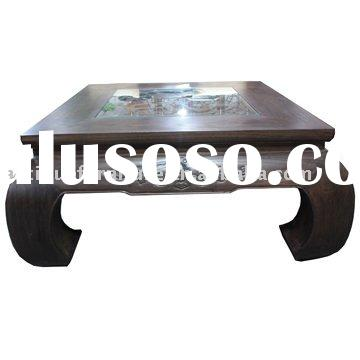 Wood coffee table,wood carving,Chinese antique furniture