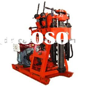 XY-1A-4 water well drilling rig for 100m with pump and changable frame