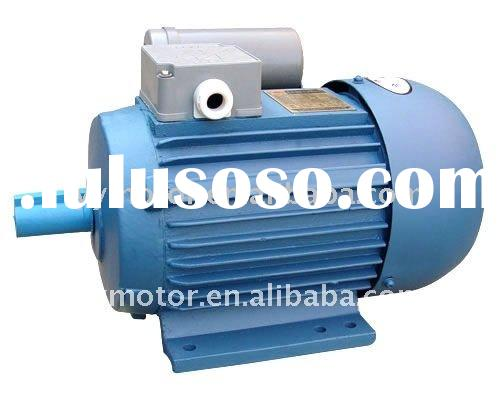 YU series fractional horsepower asynchronous 1 phase squirrel cage ac induction motor