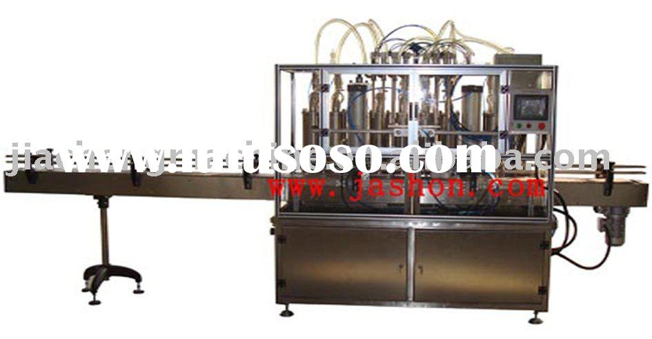 ZXRG-8 automatic linear petrol petroleum jelly filling machine