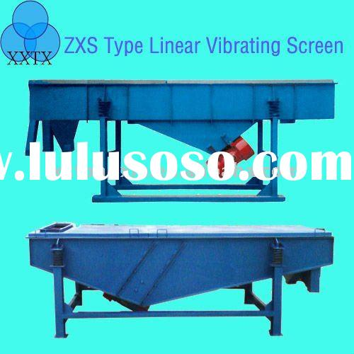 ZXS series Linear Vibrating Screen for PVC