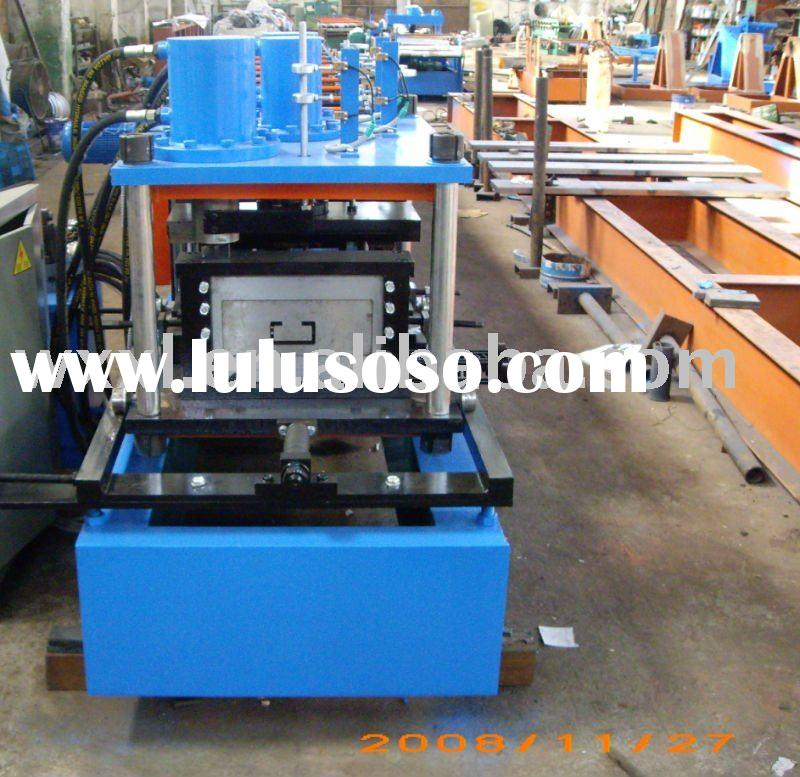 """C"" Type Purlin Profile Cold Roll Forming Machine"