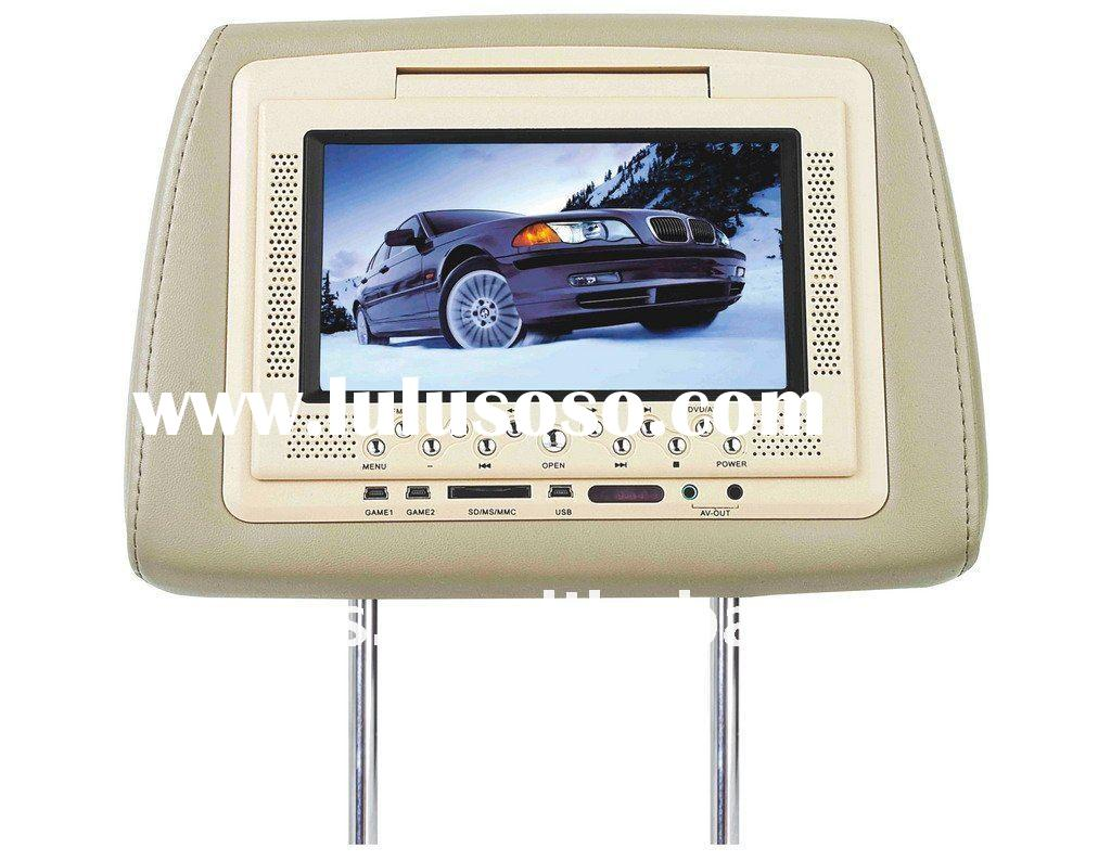 (Popular)7 inch Headrest Car DVD Players