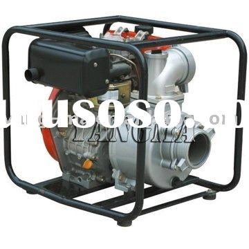 (big fuel tank) 3 inch electric start 4-stroke diesel water pump
