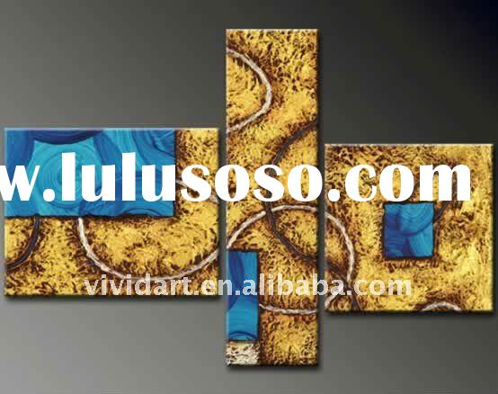 abstract and decorative oil paintings