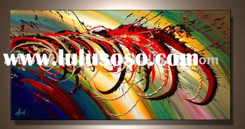abstract canvas painting(art painting)