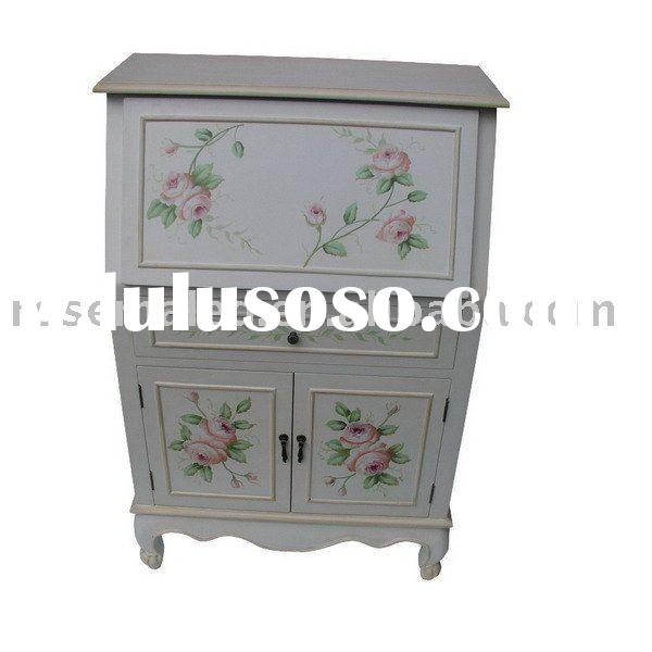 antique presever or storage closet cabinet in the home furniture
