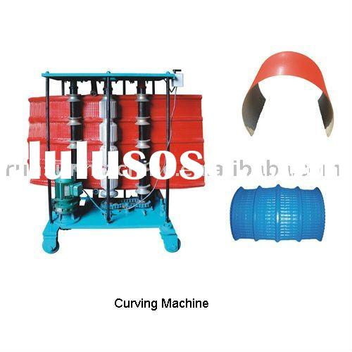 arched color steel plate curving machine /Radius of curving sheet /curving roll forming machine