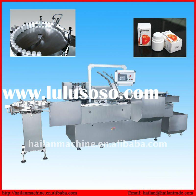 automatic carton box packing machine for carton food, bottle,tube