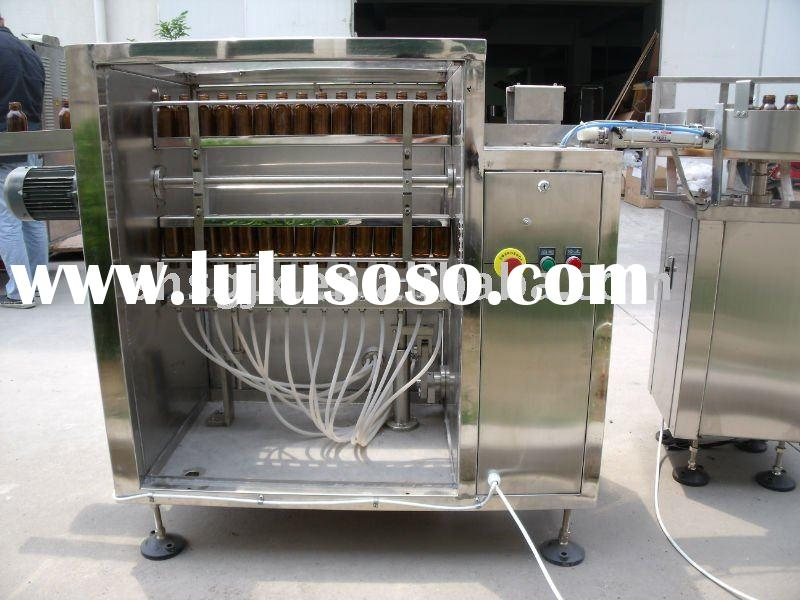 automatic washing glass bottles machine