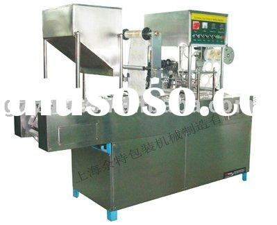 automatic yogurt filling and sealing machine