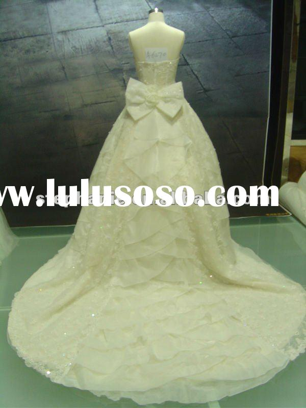 ball gown wedding dress long train