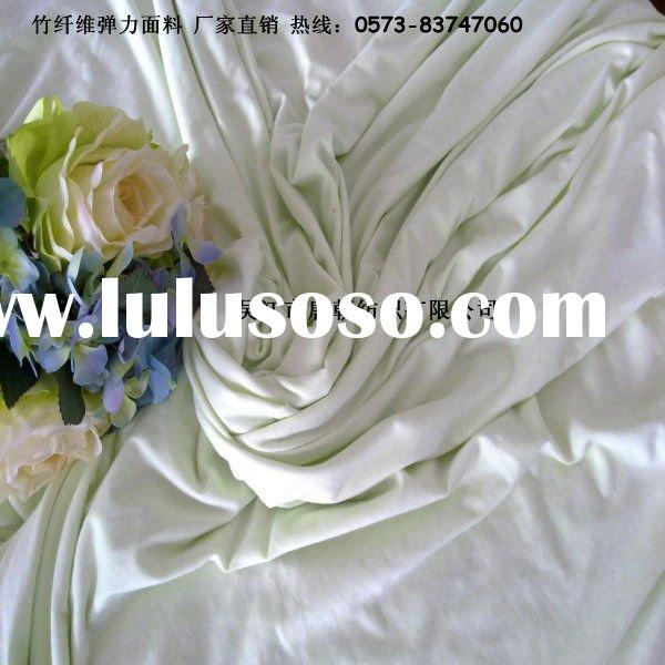 bamboo/cotton knitted fabric