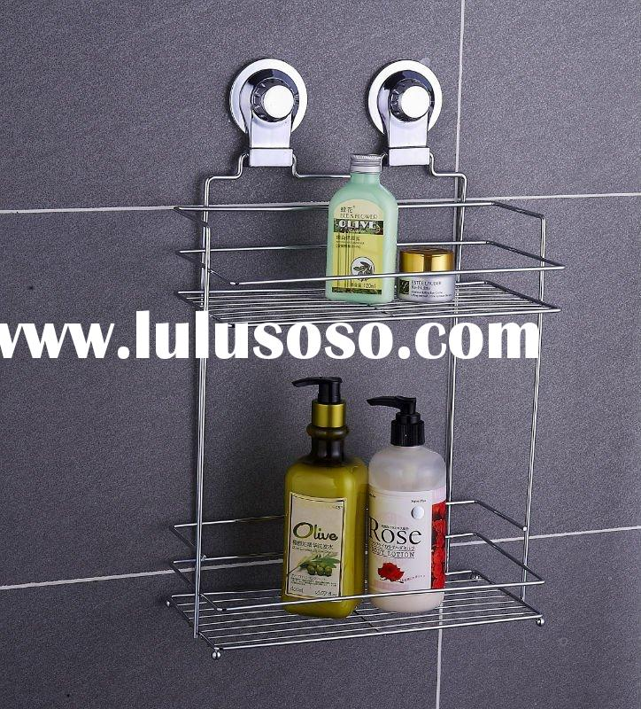 bathroom accessory with suction rack (suction cup)