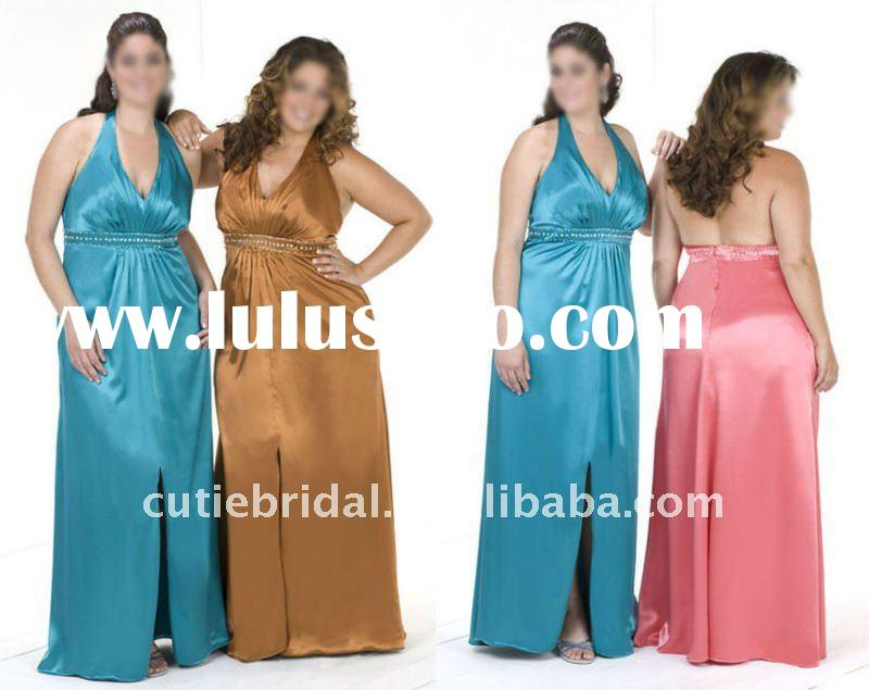 big size evening dresses,plus size cheap night dress 50056