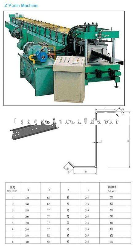 c and z purlin roll forming machine,c Shape Purlin Forming Machine,purlin Forming Machine,u chanel f