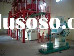 complete set 100 tons per day maize/corn processing equipment