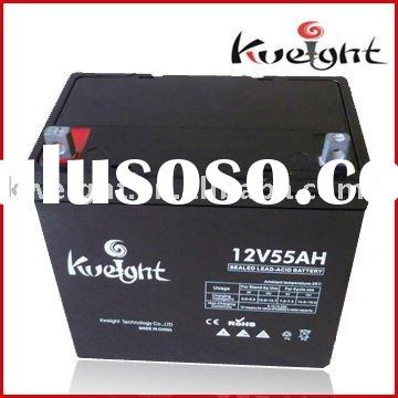 deep cycle gel battery 12V 55Ah