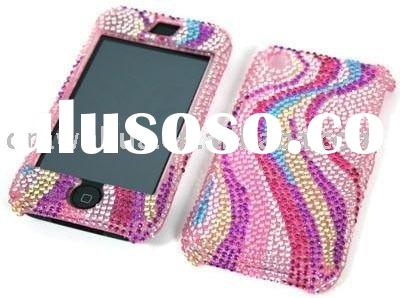 diamond case for iphone 3g/rhinestone case for iphone 3g/stone case for iphone 3g