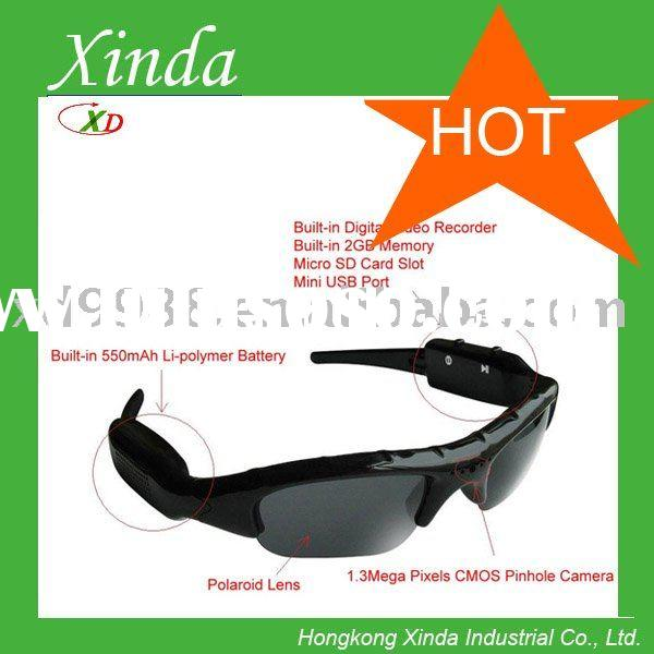 digital video glasses with 2GB-16GB memory card
