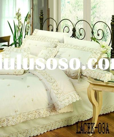 embroidery duvet cover 12pcs set