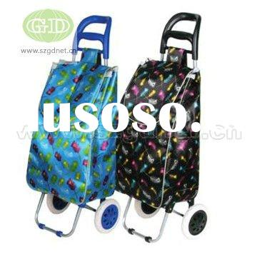 environmentally friendly leisure foldable hot sale polyester supermarket newest luggage travel pinic