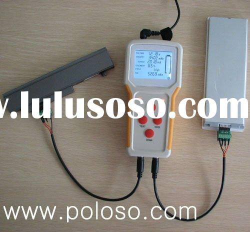 external laptop battery charger and tester can charge and test batteries outside of the laptop