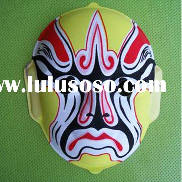 fashion helloween carnival chinese opera face maskfancy fancy face masks for painting chinese latex