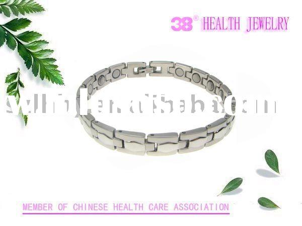 fashion magnetic stainless steel bracelet health jewelry