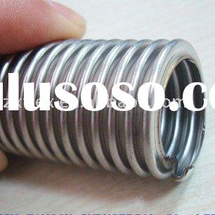 flexible hose material stainless steel 304 typr spiral diameter 3/8-2inch