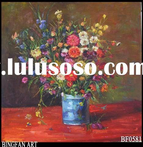 flower oil painting pictures