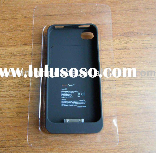 for iphone 4 backup battery case(1500mah)