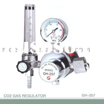 gas pressure regulator:gas pressure reducing regulator:CO2 gas regulator