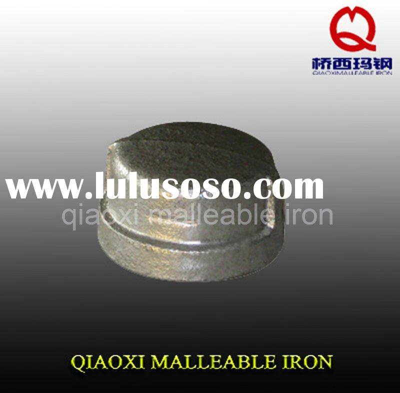 gi malleable cast iron pipe fitting cap