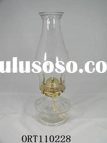 glass chimney/glass lampshade /Glass oil lamp shade
