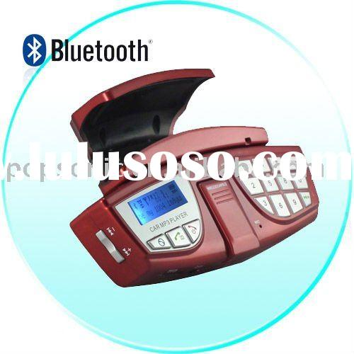good selling bluetooth handsfree car kit with FM transmitter