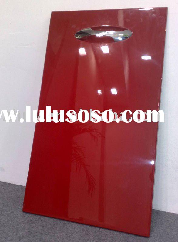 high gloss lacquer kitchen cabinet doors( baking paint,lacquer panel0